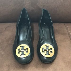 "Tory Burch ""Amy"" Black Shoes"